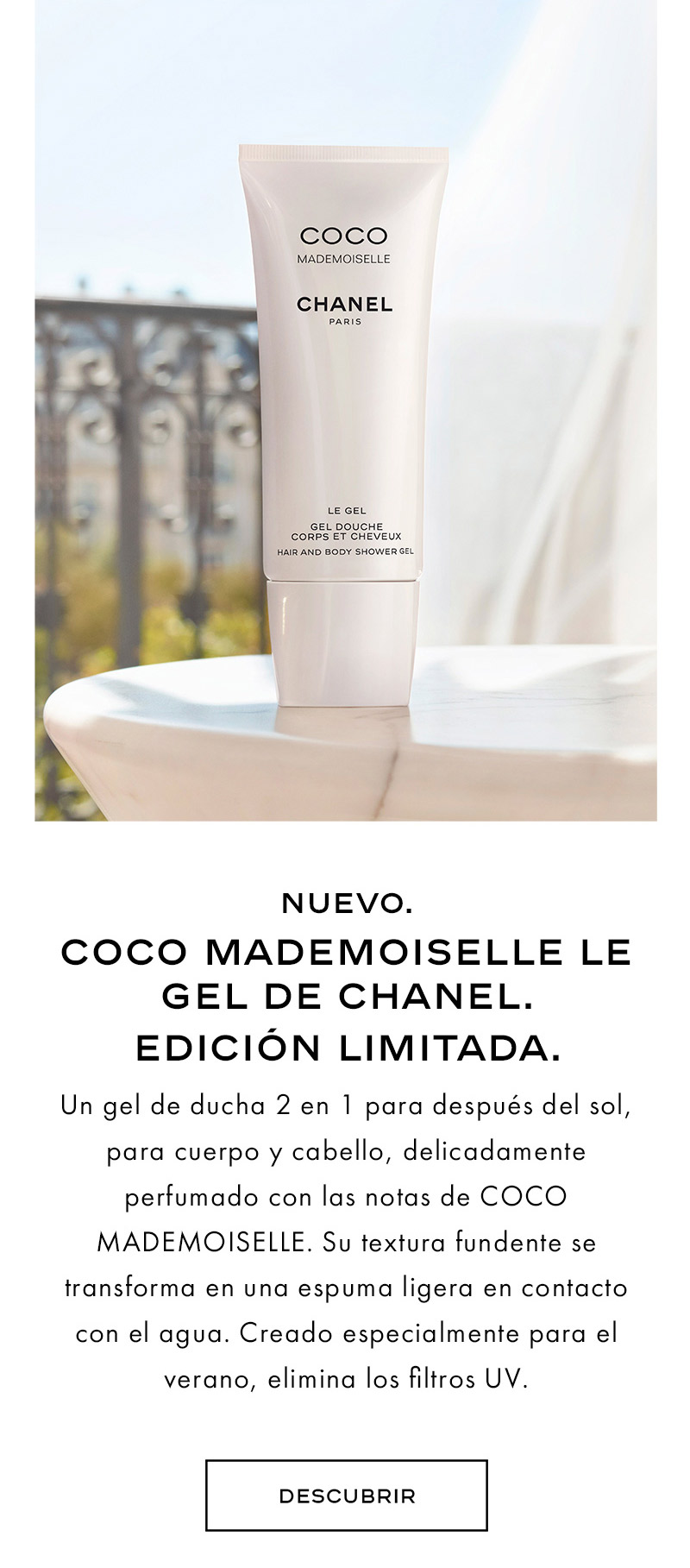 COCO MADEMOISELLE COLLECTION ÉTÉ